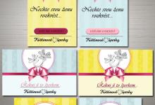Bannery pro květinové šperky